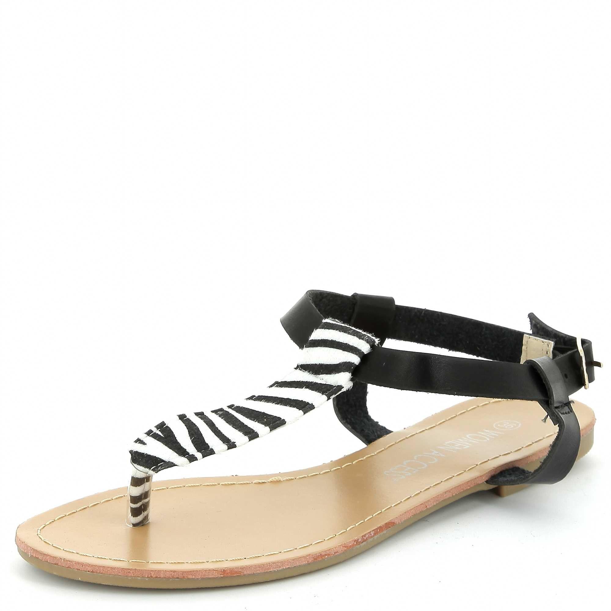 220f1d728 Sandalias de leopardo NOIR  Mujer