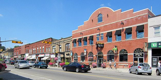Paris Canada S Prettiest Little Town Ontario Travel Canada
