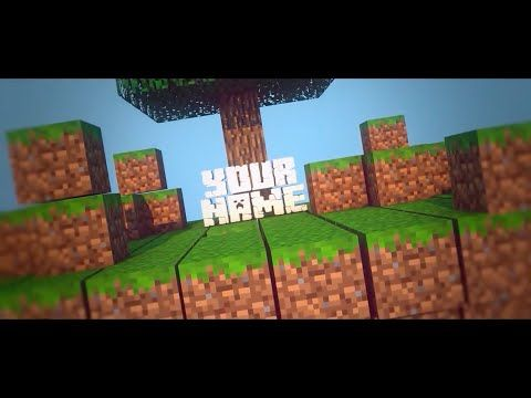 top 20 free minecraft intro templates! - sony vegas, after effects, Powerpoint templates