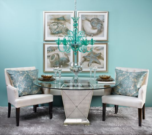 Z Gallerie - Borghese Dining Table | Elegant dining room ...
