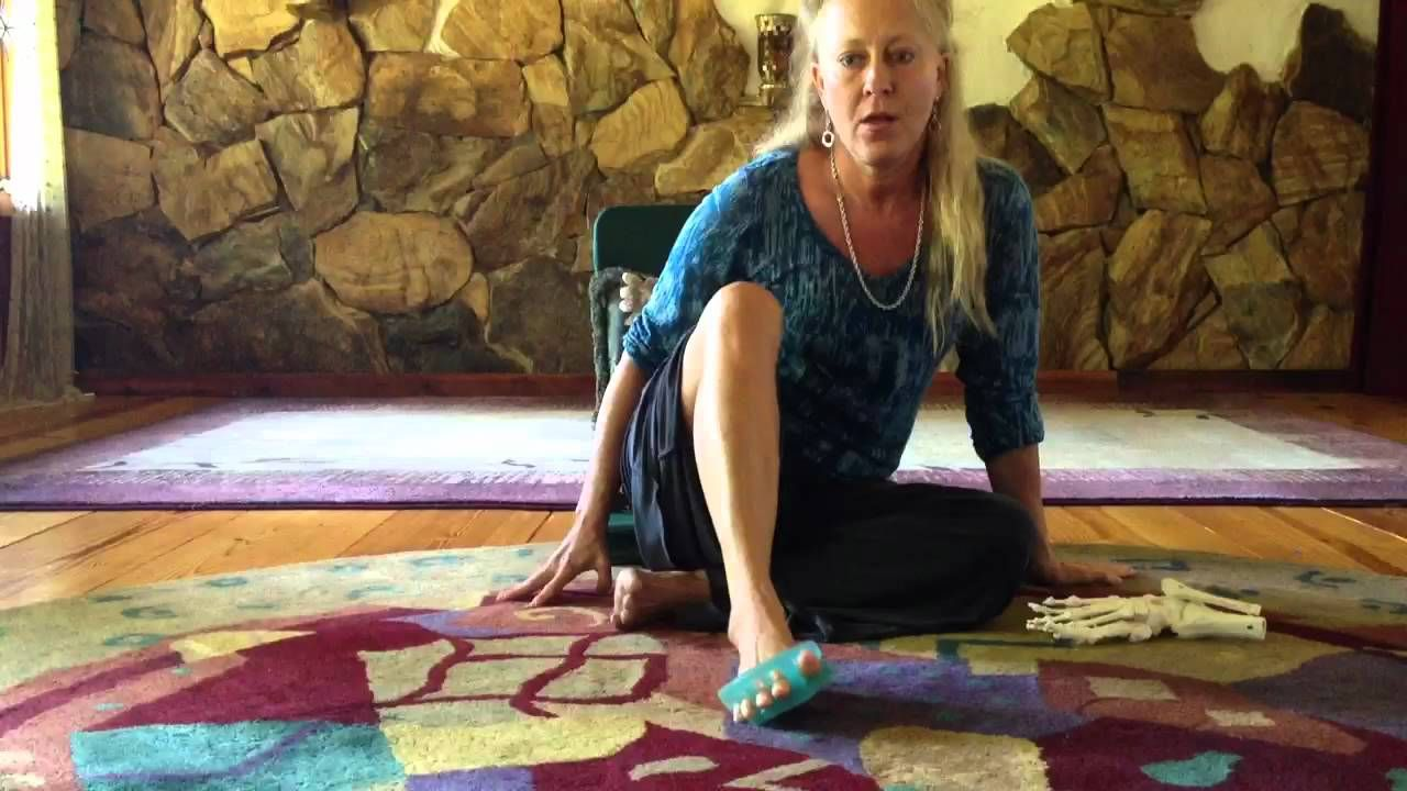 An introductory lesson on yoga toes by rebecca fitolddog