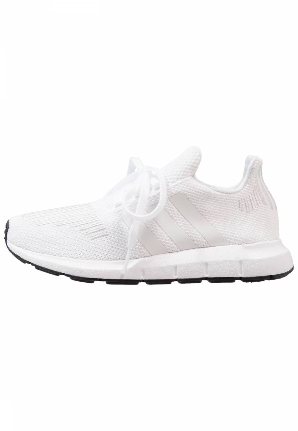adidas Originals. SWIFT RUN - Sneakers laag - white. voering:textiel.  Voeringdikte
