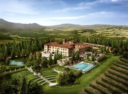 Italy S Newest Luxury Resort Makes Tuscany Even More Attractive For 2017