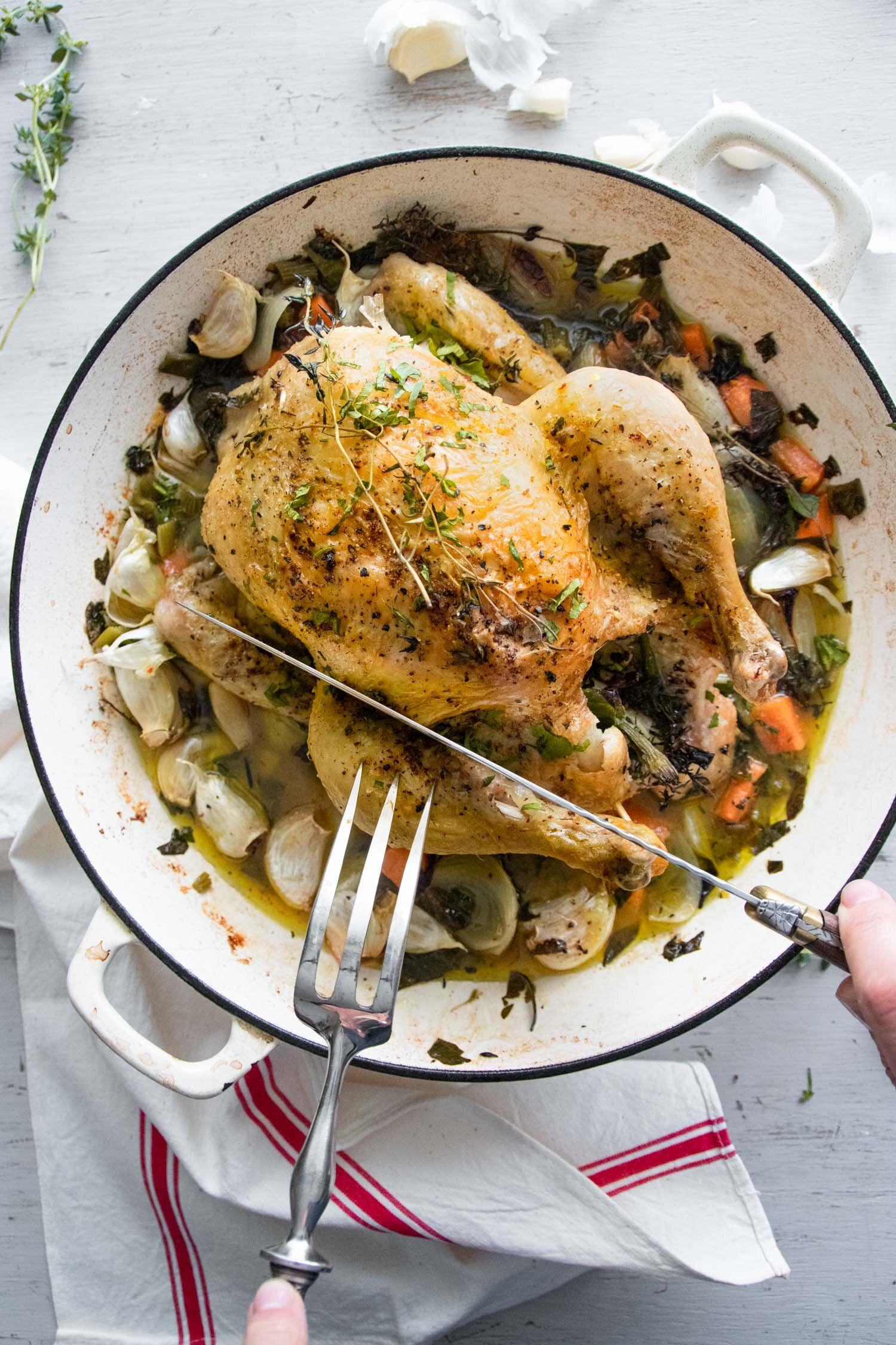 Chicken With 40 Cloves Of Garlic Michelle Bessudo Recipe In 2020 Easy Chicken Recipes Garlic Chicken Garlic Chicken Recipes