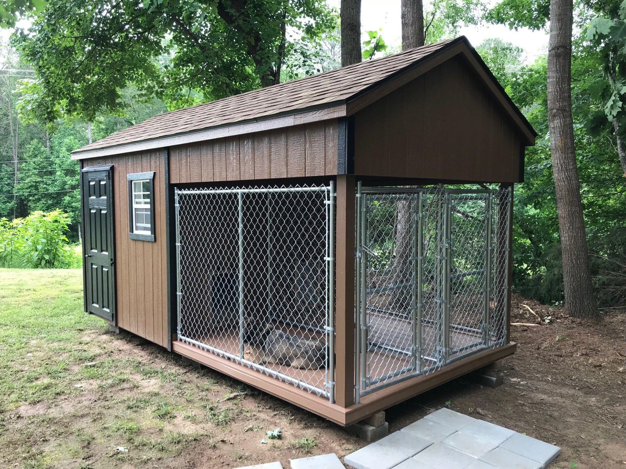 Learn more about prefab dog kennels! Dog kennel, Dog