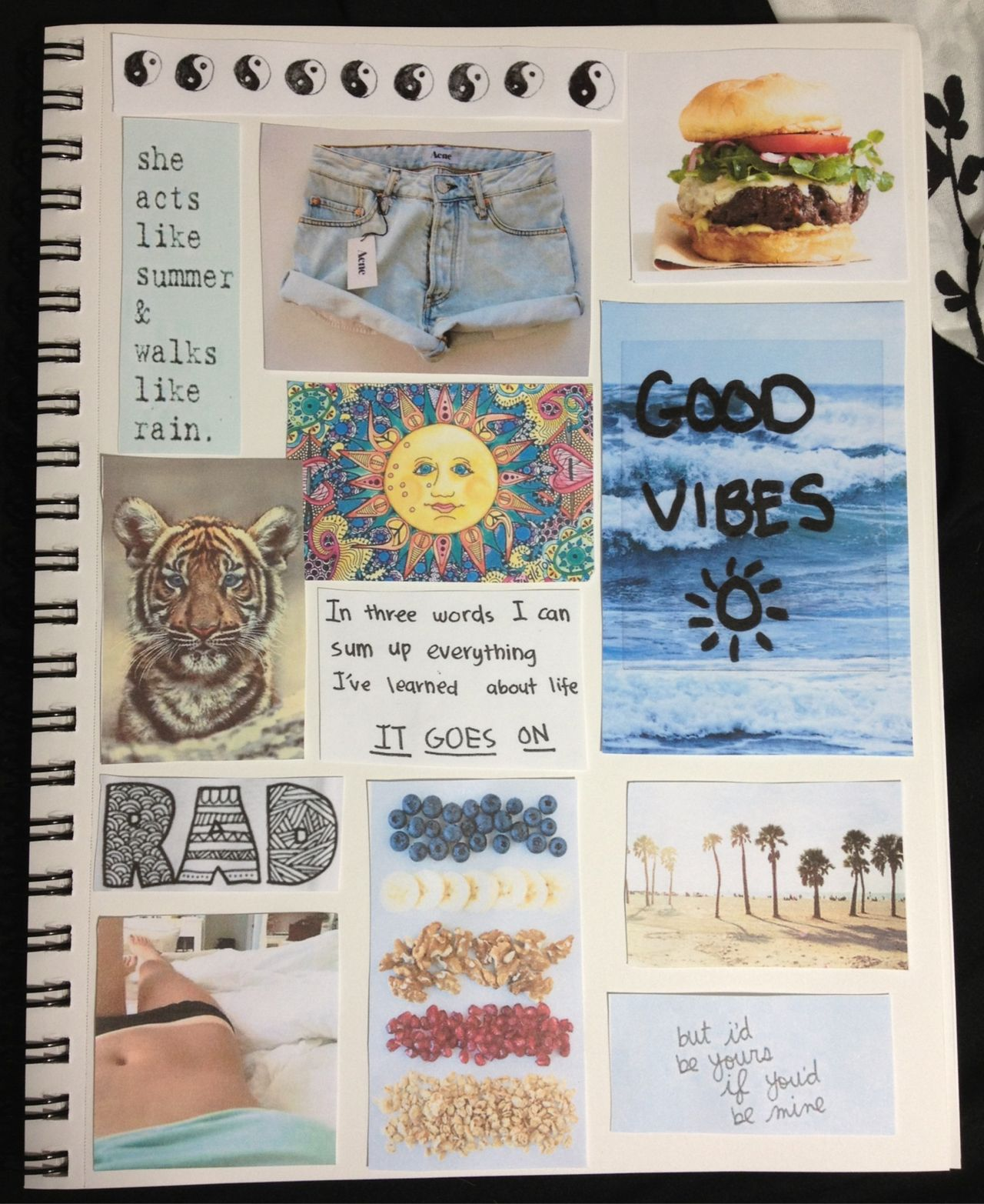 How to make scrapbook look good - Good Vibes Not Scrapbook When You Re In A Good Mood Fill A