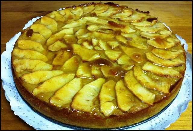 Tarta De Manzana La Más Fácil Del Mundo Receta Tarta De Manzana Fácil Tarta De Manzana Relleno De Manzana