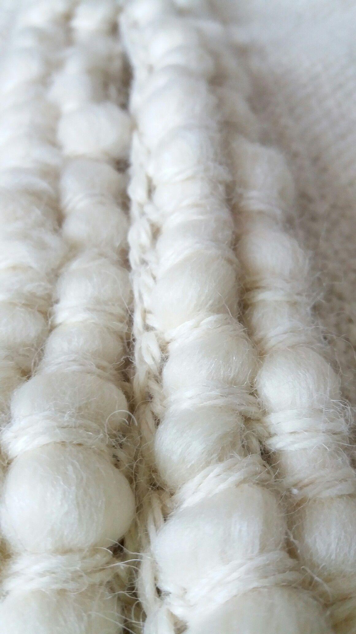 Abatejidos! Aplicación de vellón en terminaciones de tejidos.