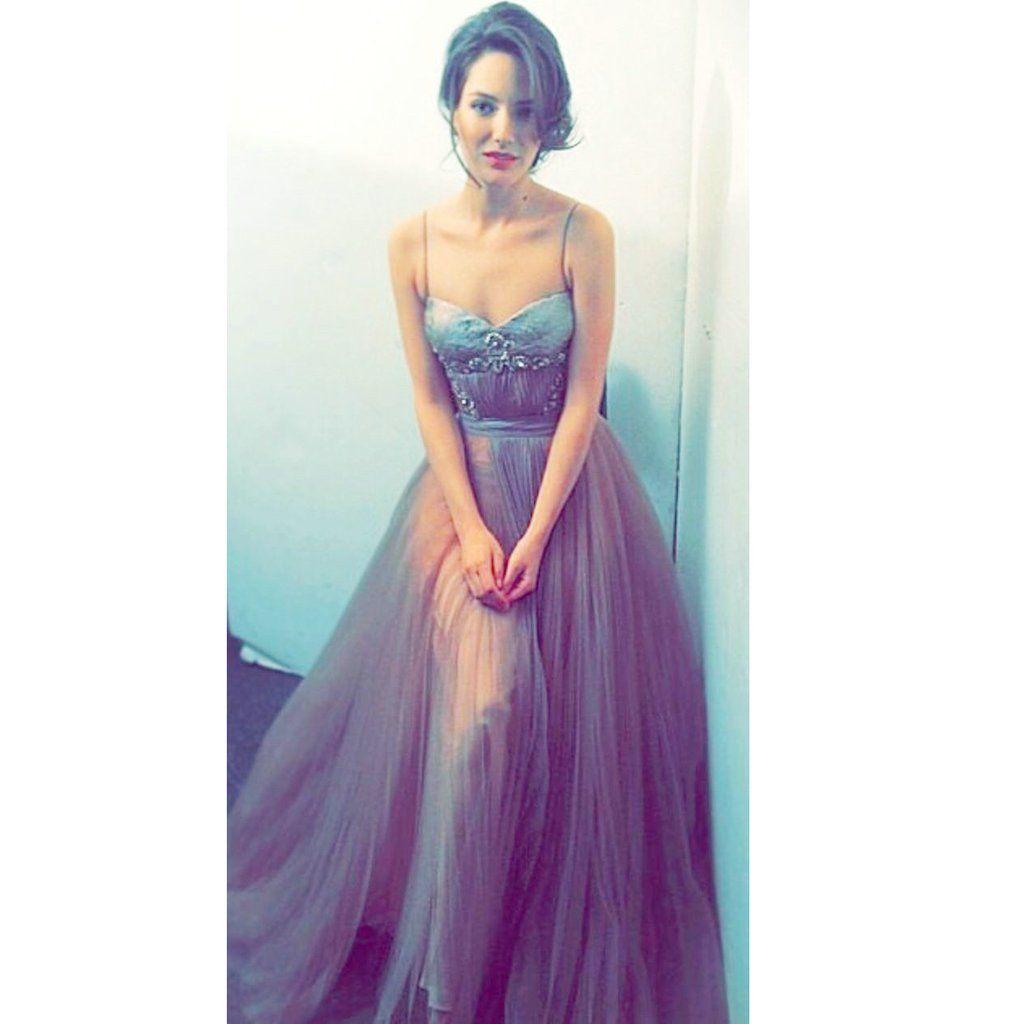 Charming Prom Dress,Spaghetti Straps Prom Dress,Long Prom Dresses ...