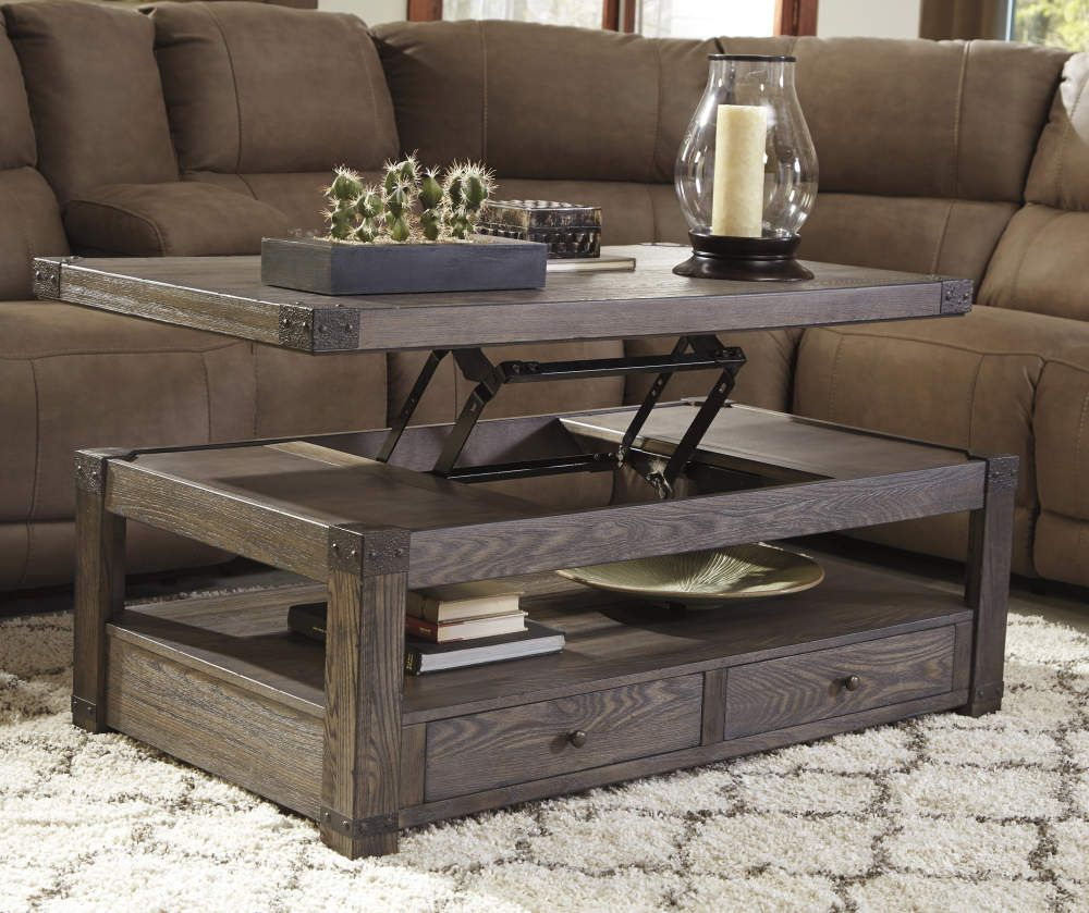 Signature Design By Ashley Buladen Lift Top Coffee Table Big Lots In 2021 Living Room Coffee Table Decorating Coffee Tables Coffee Table [ 839 x 1000 Pixel ]