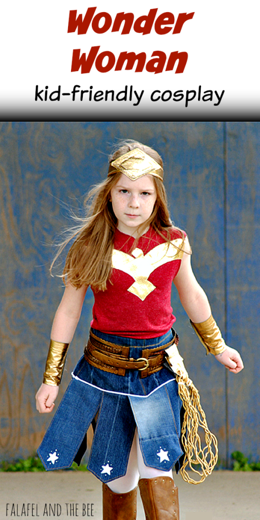 e8ee831ba Kid-friendly Cosplay Wonder Woman | costumes | Girl superhero ...