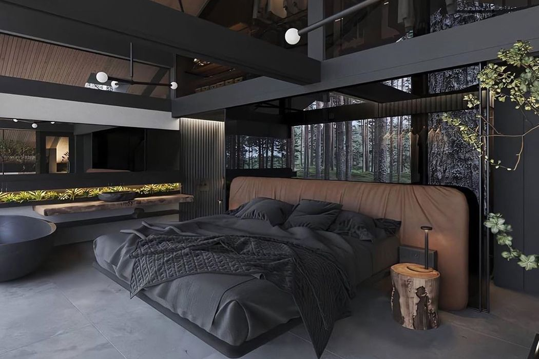 33++ All black modern house information