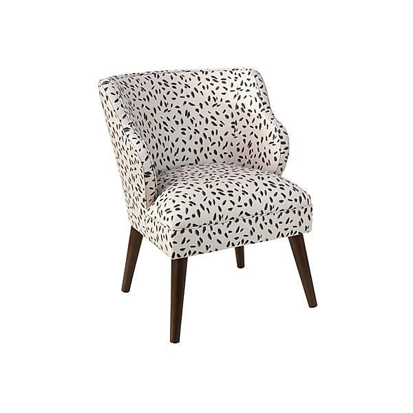 Kira Accent Chair Neo Leo Cream Accent U0026 Occasional Chairs ($445) ❤ Liked On
