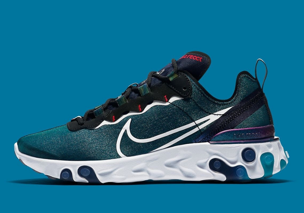 sprzedawca hurtowy oficjalne zdjęcia najlepsze oferty na Nike React Element 55 w 2019 | Sneakers | Buty sportowe i Buty