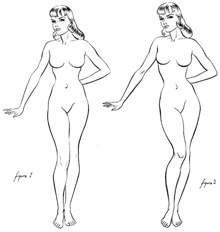 Female Figure Drawing Methods and Techniques for Beautiful ...