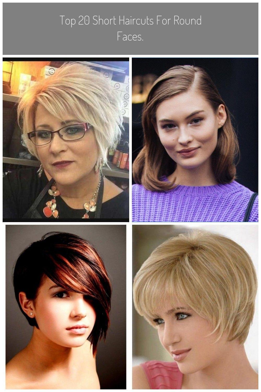 Top 12 kurze Haarschnitte für runde Gesichter.  Einfache Frisuren