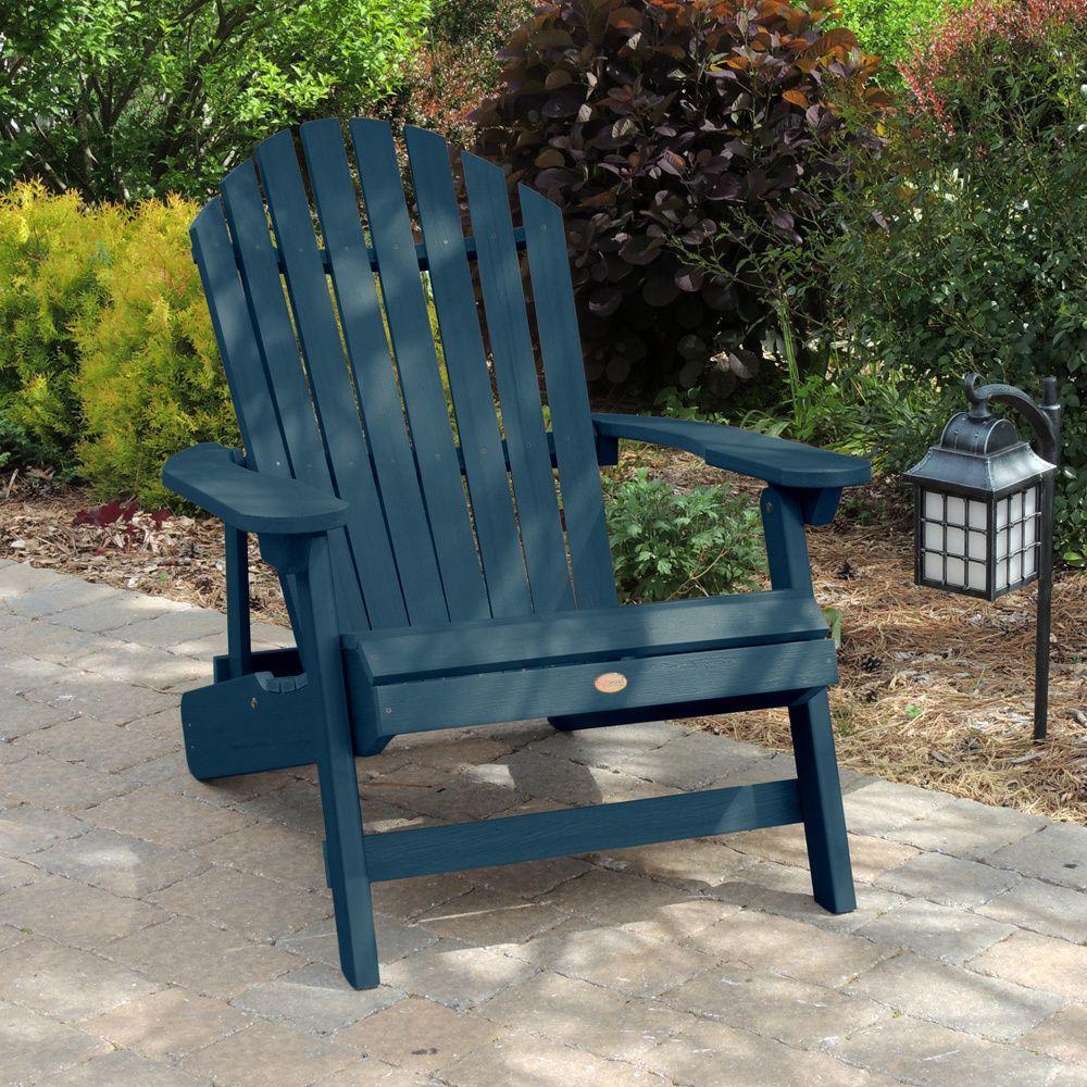Highwood ecofriendly synthetic wood kingsize folding and reclining