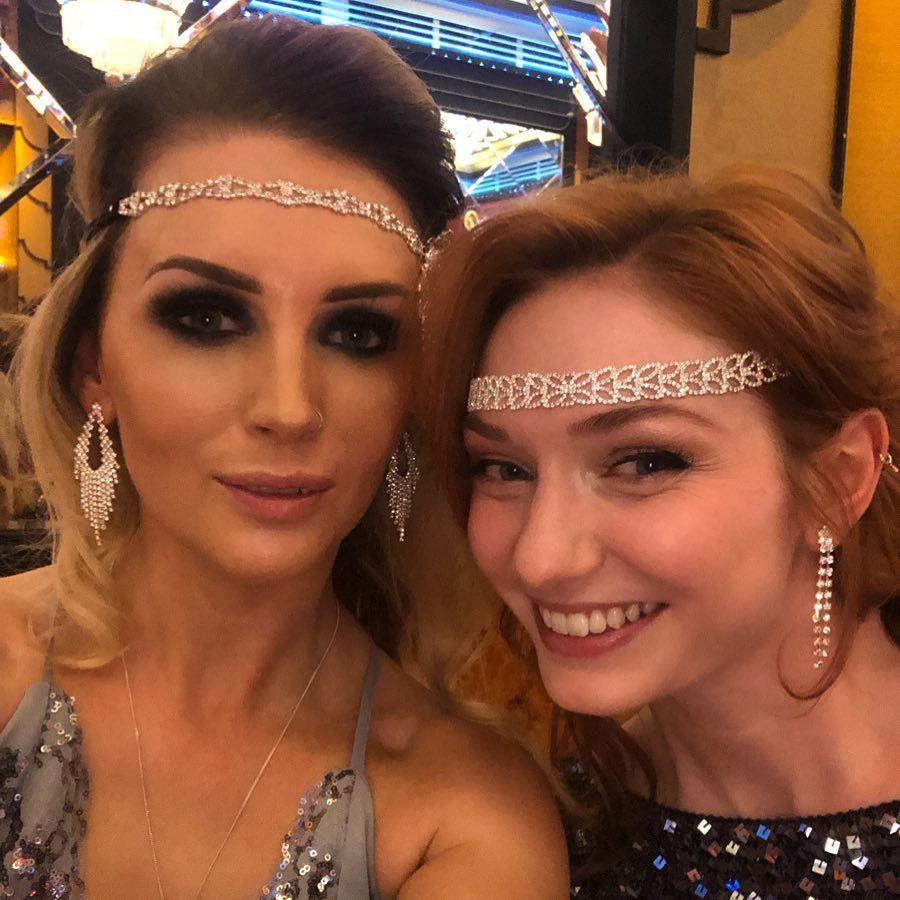 Rebecca Hills On Instagram My Best Friend Though 1920s Peakyblinders Ball Bestfriends Fun Fancydress Nig Eleanor Tomlinson British Actresses Actresses
