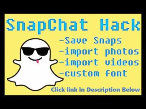 Snapchat Hacks 2017 - How To Hack And Spy on Someones