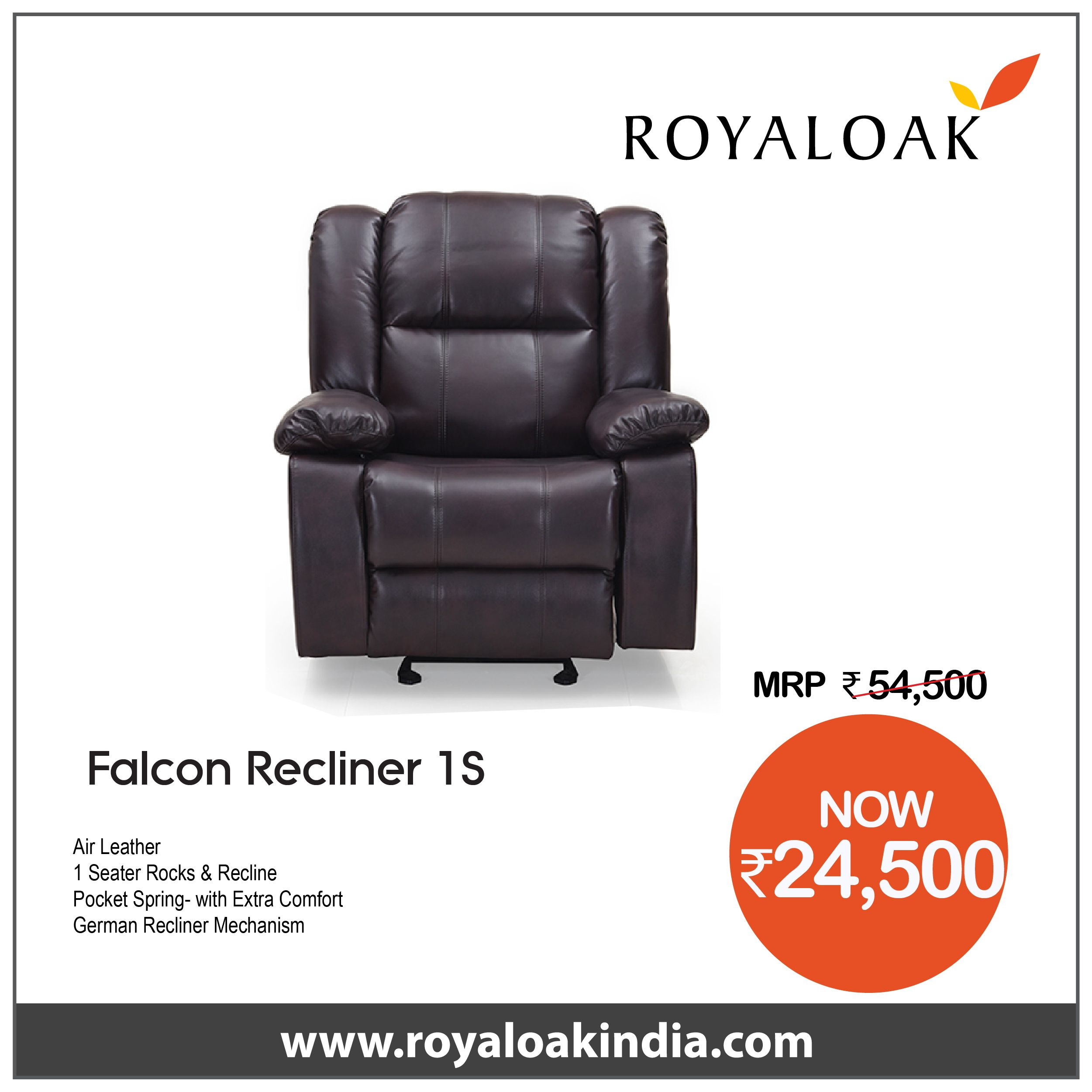 Pin By Royaloak Furniture On Royaloak Recliner Sets Recliner Leather Fabric Stuff To Buy