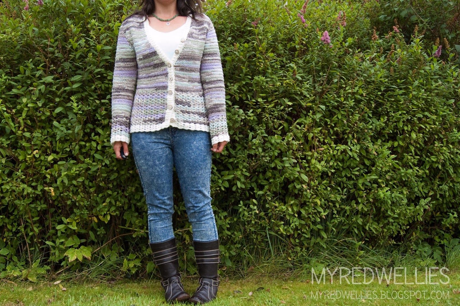 Green Green Grass Cardigan {for me}   My Red Wellies. Crochet in ...