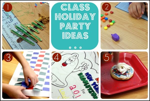 Elementary School Christmas Party Idea - Somewhat Simple