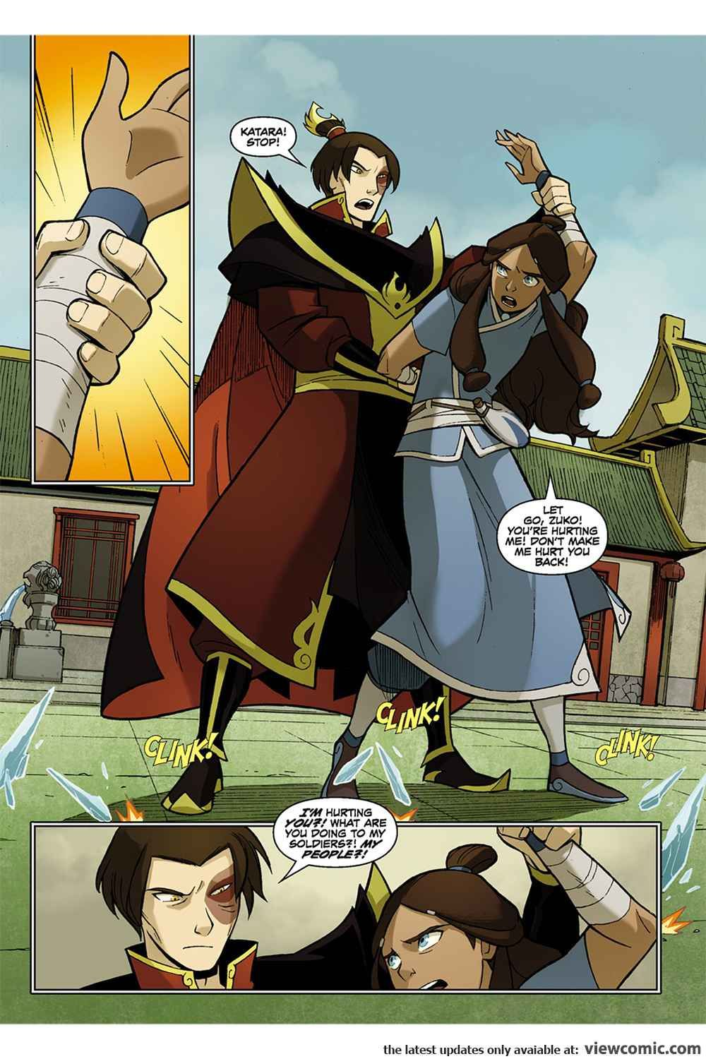 Phrase necessary Avatar the last airbender katara comic