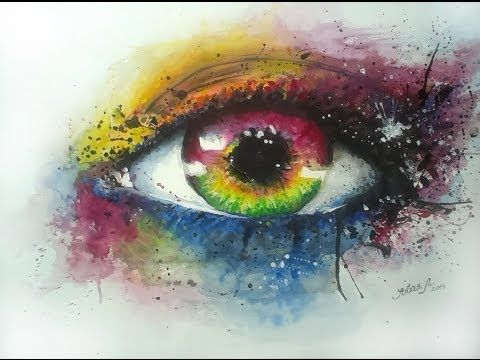 Watercolor Eye By Jovan Lilic Most Beautiful Watercolor Painting