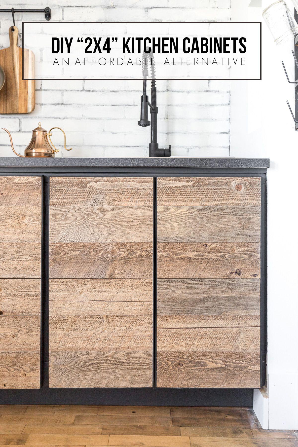 Diy 2x4 Kitchen Cabinets Tutorial Cherished Bliss Diy Cabinet Doors Building Kitchen Cabinets Cheap Kitchen Cabinets
