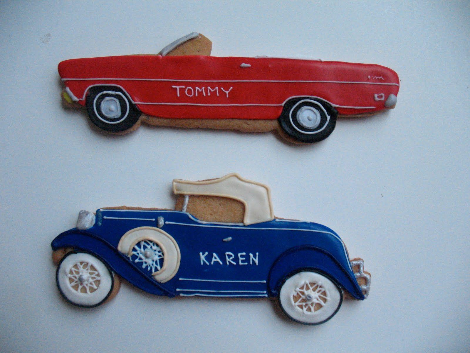 Classic Car Cookies | cookies - F - CARS | Pinterest | Carros ...