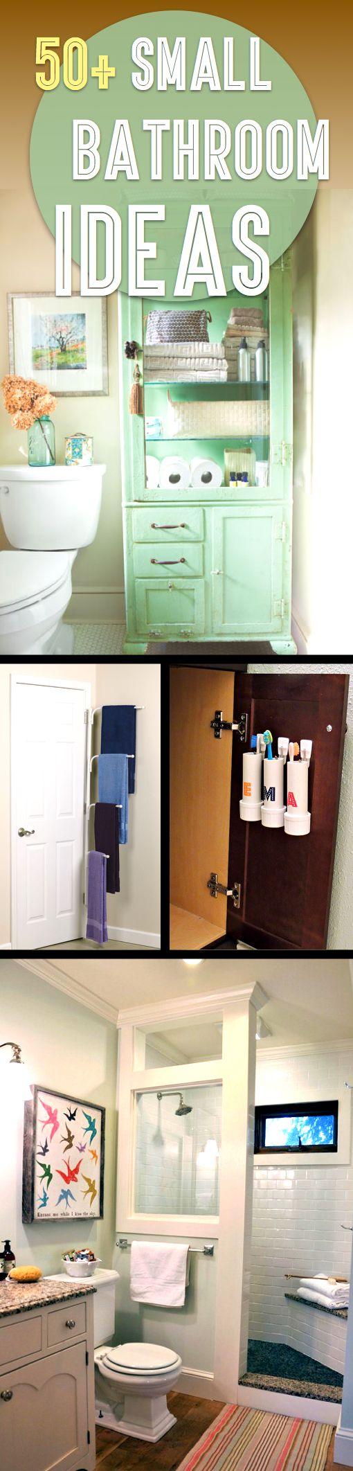 50 Small Bathroom Ideas That You Can Use To Maximize The Available Storage Space Home Is