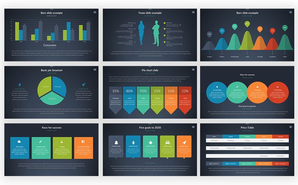 Master Pitch Powerpoint Template Wordpress Theme Free Pinterest