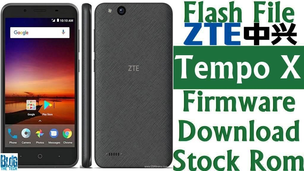 Flash File] ZTE Tempo X N9137 Firmware Download [Stock Rom