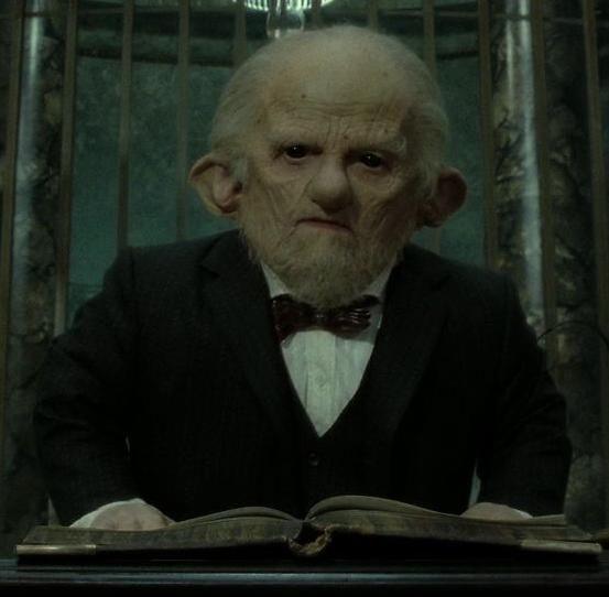 Ricbert Harry Potter Wiki Harry Potter Goblin Harry Potter Facts