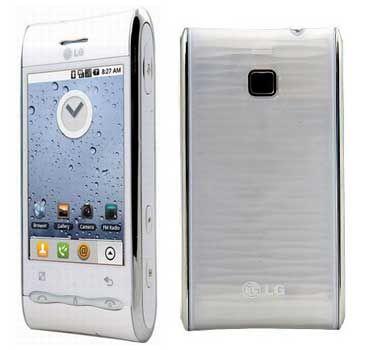 Thay mặt kính - màn hình - cảm ứng LG GT540 -