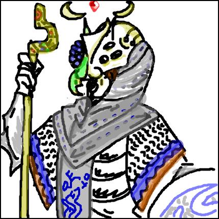 Myfari Wizard Portrait by Jesus-lizard on DeviantArt