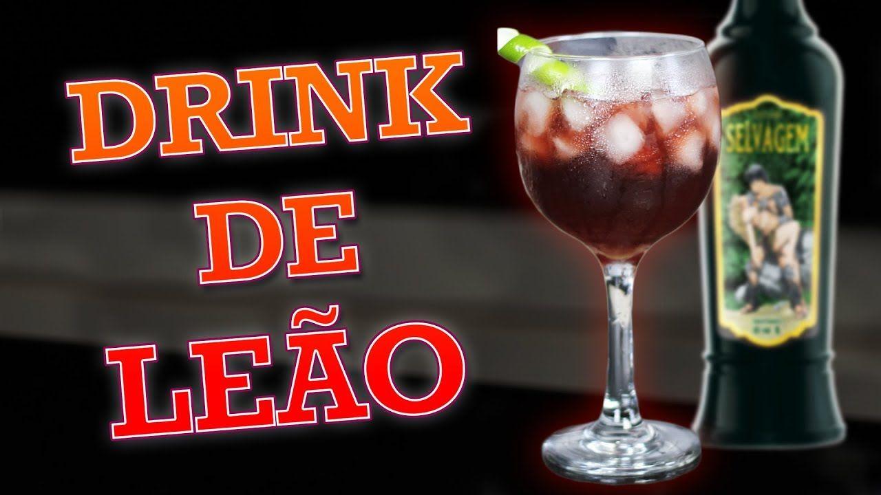 Drink De Leao Zodiaco De Drinks Com Catuaba Selvagem Catuaba Drinks Receitas Receitas