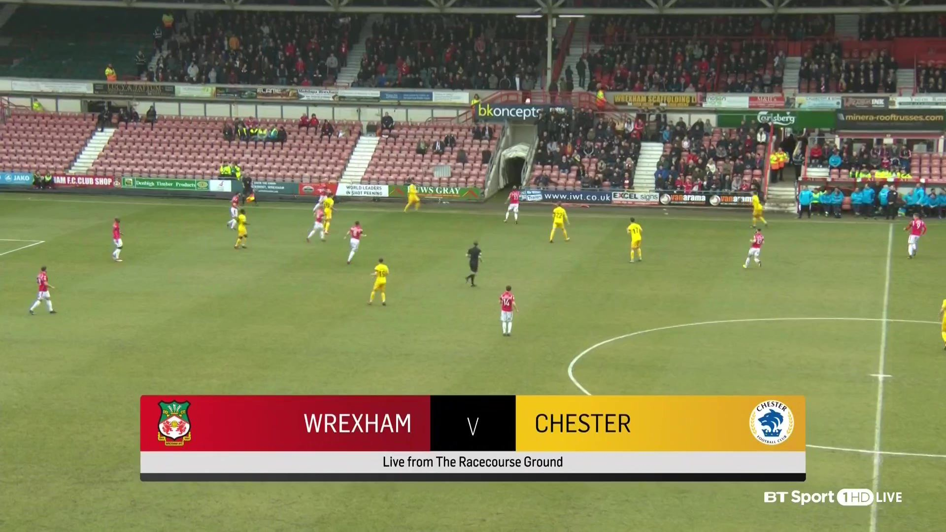 Pin on goals Vanarama National League Wrexham vs