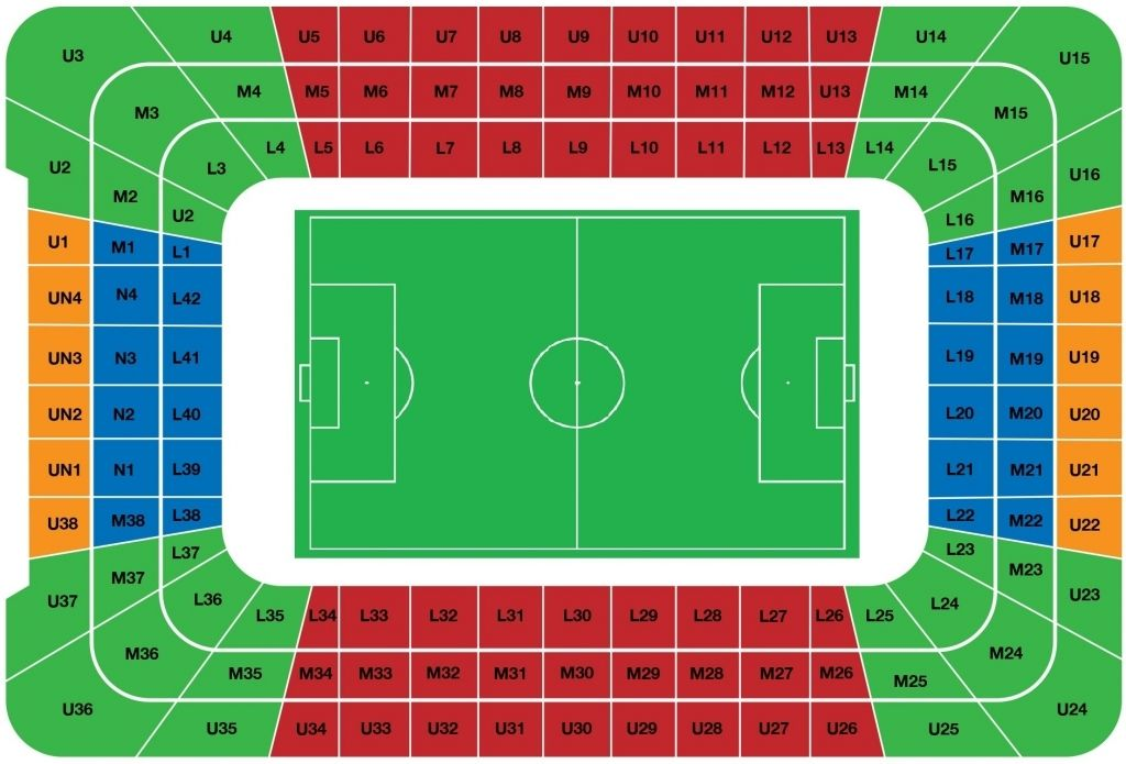 Principality Stadium Seating Plan Rugby Millennium