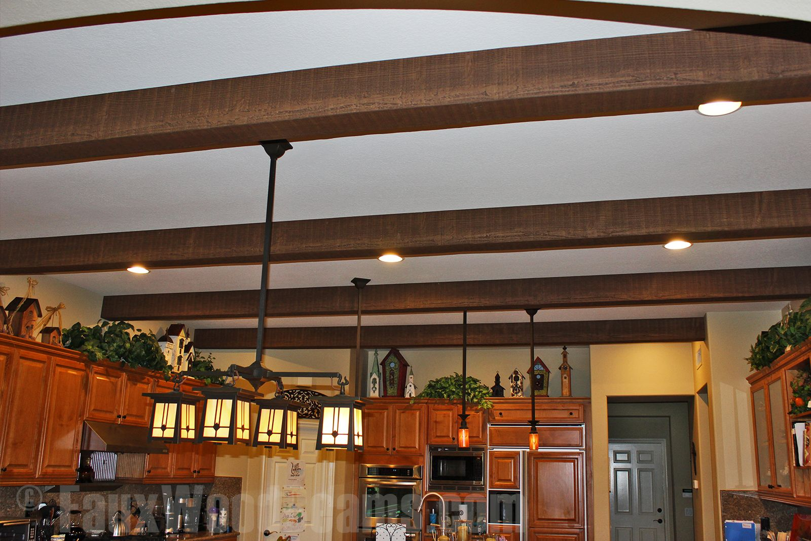 Wood Beams For Family Room Description From Fauxwoodbeams