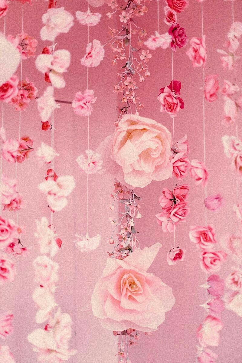 Pink flower wallpapers and background images for all your devices. •P•I•N•K• | Pink aesthetic, Pastel pink aesthetic, Pink ...