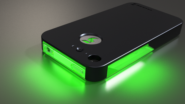 Superior Phaze5   FLASHr IOS LED Flash Notification Case For IPhone Design