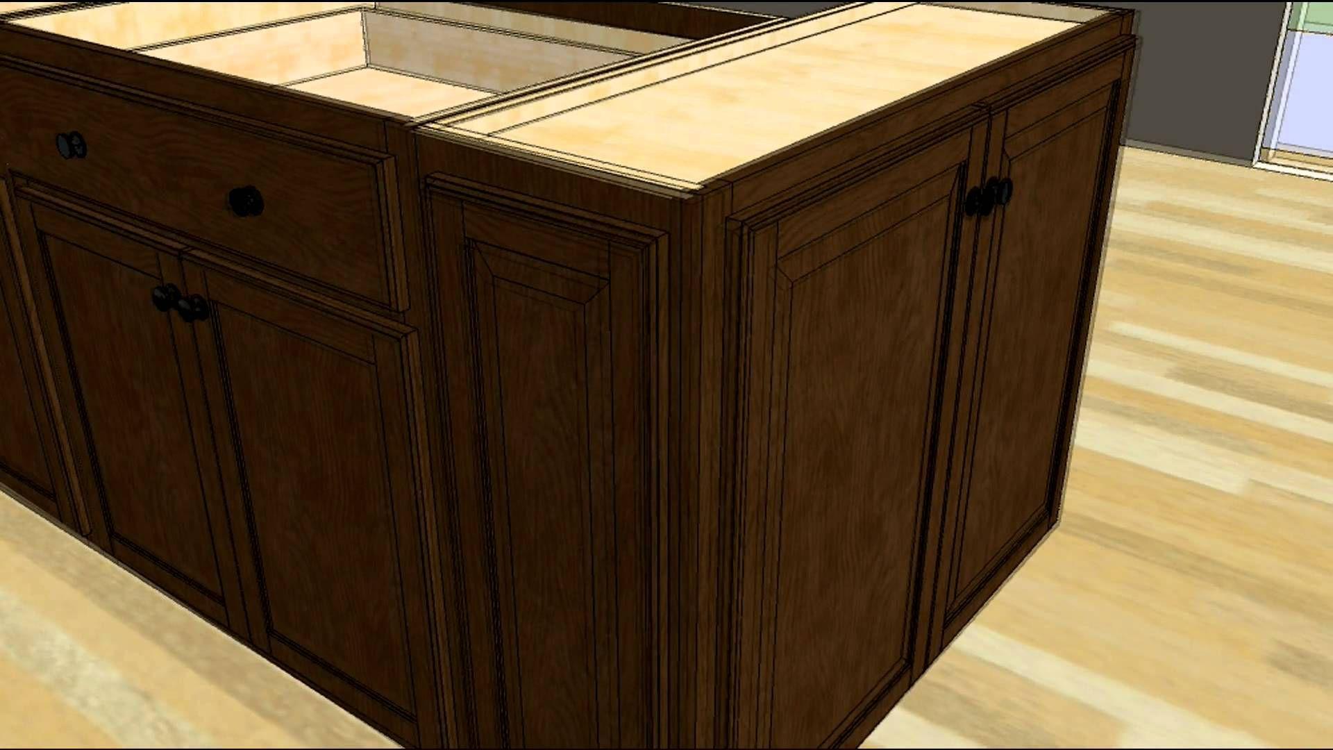 Diy Kitchen Island Using Cabinets