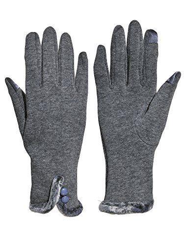 2b69a5b48 Women Winter Gloves Touch Screen Thick Fleece Lined Warmest Glove ...