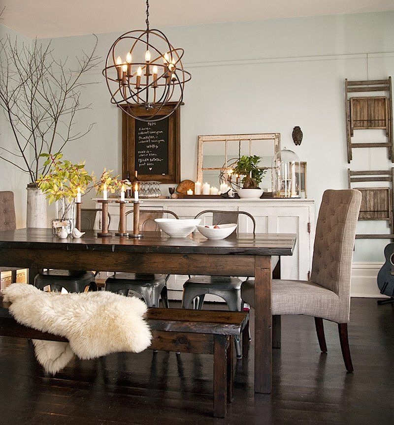 High Quality Dining Room   Eclectic Details Like Mismatched Dining Chairs And Vintage  Inspired Accessories Are Paired