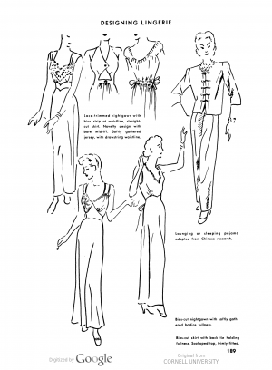 1940s Sleepwear: Nightgowns, Pajamas, Robes, Bed Jackets