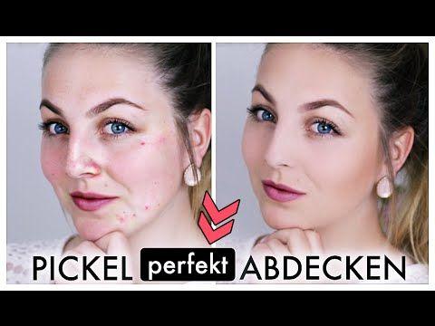 Make Up Pickel Abdecken