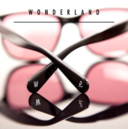 Wonderland Sunglasses now available at Lost Weekend NYC  [ www.lostweekendnyc.com ]