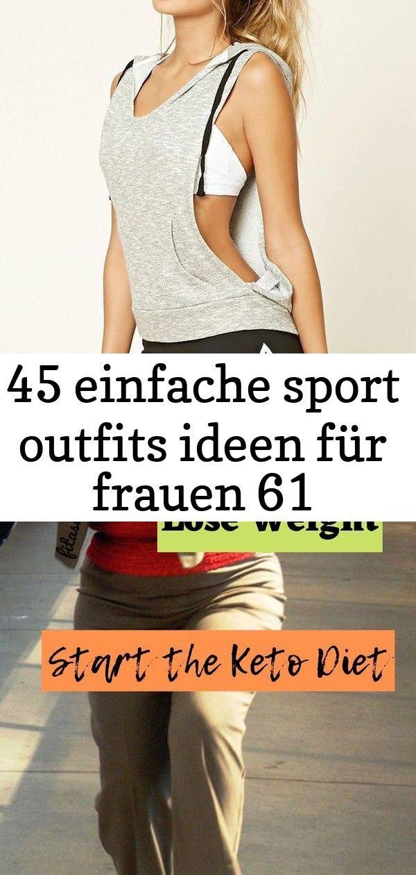 45 Einfache Sport Outfits Ideen für Frauen Willst du ein paar Pfund für die Feiertage fallen. Beginn...