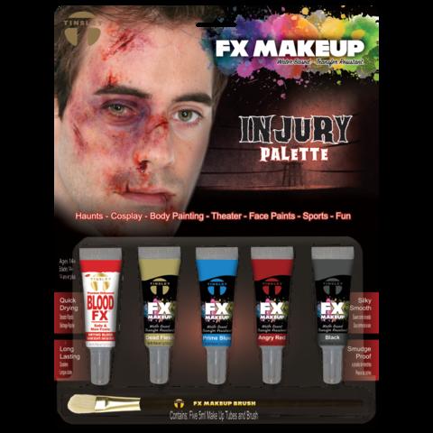 Injury Liquid Makeup Kit 5 color Makeup kit, Makeup